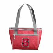 NC State Crosshatch 16 Can Cooler Tote