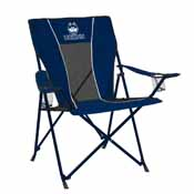 UConn Game Time Chair (embroidered) w/ Colored Steel