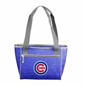 Chicago Cubs Crosshatch 16 Can Cooler Tote