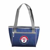 Texas Rangers Crosshatch 16 Can Cooler Tote