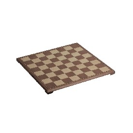 15inch Walnut Veneer Chess Board