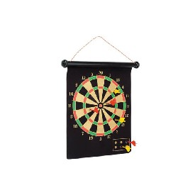 "16"" Double Sided Magnetic Dart Game"