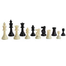 "4"" Weighted Tournament Chessmen"