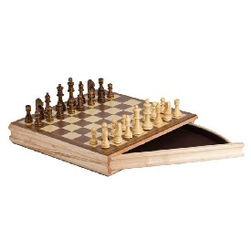 "14"" Sector Drawer Chess Box"