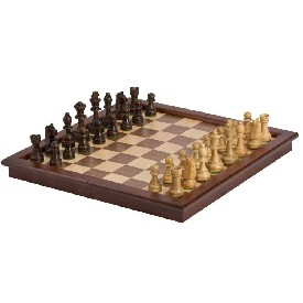 "17"" Tournament Style Folding Chess Set"