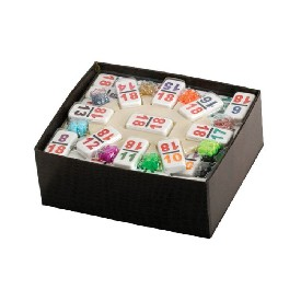 Dbl 18 Nmbrl Mexican Train Dominoe Set