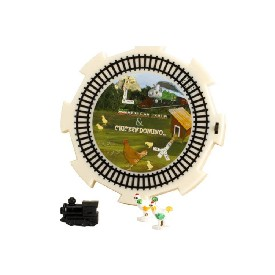 2 In 1 Whistling Train & Crowing Chicken Hub With Markers