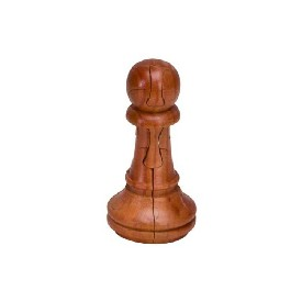 3D Puzzle Chessmen - Pawn