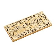 Deluxe Natural 3 Track Cribbage