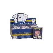 12 Deck Big # Poker Plastic Cards - Queen