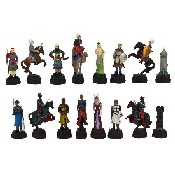 Crusades Chessmen Poly Resin