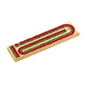 2 Color Track Cribbage