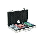 300Pc. 11.5G Dice Chips In Aluminum Case