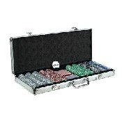 500Pc. 11.5G Royal Flush Big Numbers Poker Set