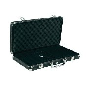 300 Chips Black Aluminum Poker Case