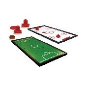 Double-Sided Tabletop Games (Finger Soccer & Pusher Hockey)