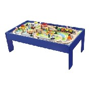 80Pc Train Set W/ Table (47 7/8