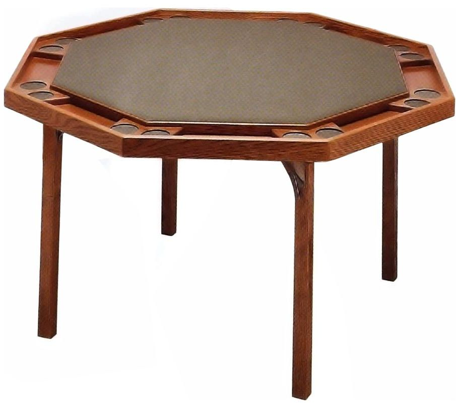 Poker Table Folding Legs Kestell Octagon. Click Image To Enlarge