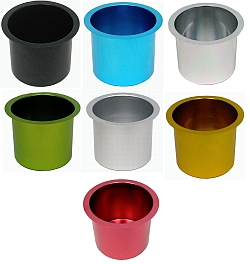 Etonnant Cup Holder Jumbo Aluminum Pokar Table