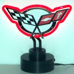 CORVETTE C5 NEON SCULPTURE 11 x 9