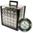 Bluff Canyon Chip Set in Acrylic Case 1000 Ct Poker Chips Sets Poker