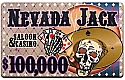 Nevada Jacks Ceramic Poker Chip Plaques Nevada Jacks