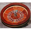 22 inch Roulette Wheel Maple Wood Finish