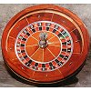 30 inch Roulette Wheel Maple Wood Finish