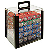 1000 10g Nevada Jacks Poker Chips in Acrylic Carrier