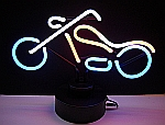 NEON CHOPPER HANGWALL SCULPTURE 14