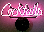 NEON COCKTAILS HANGWALL SCULPTURE 15