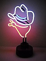 NEON COWBOY HANGWALL SCULPTURE 8