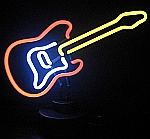 NEON ELECTRIC GUITAR  HANGWALL SCULPTURE 13