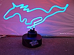 NEON HORSE HANGWALL SCULPTURE 14