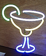 NEON MARGARITA HANGWALL SCULPTURE 8