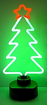 NEON CHRISTMAS TREE HANGWALL SCULPTURE 7