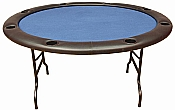 Fold Legs Round Poker Table Folding Poker Table