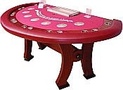 New H-Type Legs Casino Style Custom Blackjack Tables