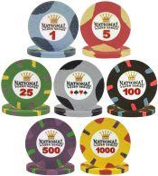 Paulson Poker Chips - Clay Poker Chips, James Bond Paulson Poker ...
